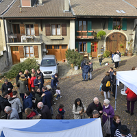 Marché de Noël à Lully 2019Photo Alain Grosclaude Mention ObligatoireReproduction Interdite
